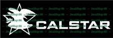 Calstar Fishing Rods - Outdoor Sports - Vinyl Die-Cut Peel N' Stick Decals