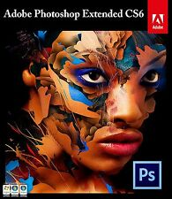Adobe Photoshop CS6 Extended (PC) Full Version-Fast Deliver-With License
