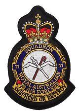 RAAF 11 Squadron Uniform Patch Crest New
