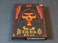 Diablo 2 Blizzard PC RPG Game Korean Version Big Box Windows CD Super Ultra Rare