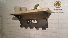 Personalised Coat Rack/Hanger, Handcrafted, Quirky, Unique Gift Retro Industrial
