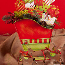 Christmas Sleigh Centerpiece and Table Decoration