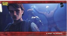Star Wars Clone Wars Widevision Silver Stamped Parallel Base Card [500] #39