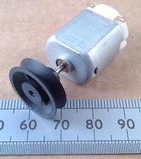18mm Diameter Miniature Model Motor Pulley Wheel for 2mm Motor Shafts
