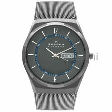 Skagen Original SKW6078 Men's Melbye Silver Stainless Steel Mesh Watch 40mm