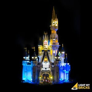 LIGHT MY BRICKS - LED Light kit for LEGO Disney Castle 71040 USB Powered