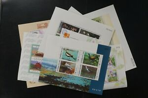 Thailand lot of 9 different VF MNH modern s/s 2017 cv$ 37.75 (k021)