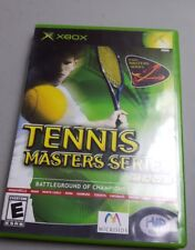 Tennis Master Series 2003 (Microsoft Xbox) Complete in Good Condition!
