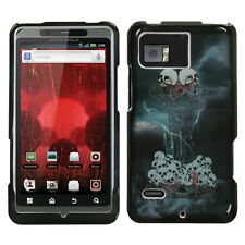For Verizon Motorola Droid Bionic XT875 HARD Case Phone Protector Cover Horror