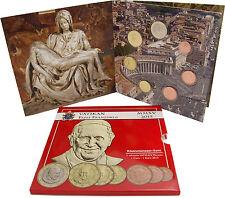 Vatikan 1,88 Euro 2015 stgl. KMS 1 Cent bis 1 Euro Papst Franziskus im Folder
