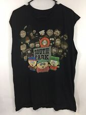 Vintage South Park T Shirt Xl 90's Comedy Central Characters Cartman Kenny Chef