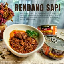 BEEF RENDANG READY TO EAT TRADITIONAL INDONESIAN FOOD