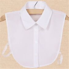 2016 New Blouse False Collar Clothes Shirt Detachable Collars White Black Blue