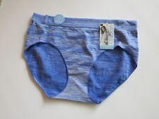 74e829d8b608 NWT JOCKEY 8 Hipster Underwear Modern Fit Panties 1 pr Seamfree Sporties  Blue
