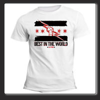 T Shirt Uomo Donna CM Punk Best In The World Wrestling Art. 001 fb48840656f0
