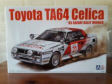 Aoshima Beemax 1/24 No.04 Toyota TA64 Celica '85 Safari Rally Winner