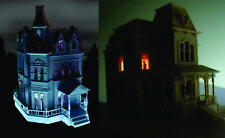 Addams Family & Psycho House Backlightable Windows Combo