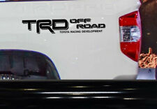 TRD Off Road Vinyl Decal Sticker for Toyota Tacoma Tundra Truck bedside set of 2