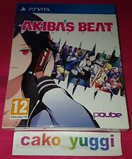 AKIBA'S BEAT LIMITED EDITION SONY PS VITA PAL NEW SEALED NEUF SCELLE