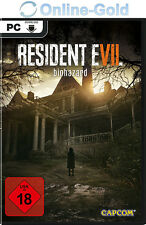 RESIDENT EVIL 7 / BIOHAZARD VII Key - STEAM Digital Download Code PC Spiel DE/EU
