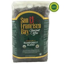 San Francisco Bay Organic Rainforest Blend Whole Bean  Gourmet Coffee