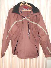 XL maroon Marker mens ski coat, Excellent
