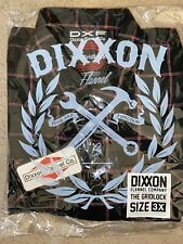 "Dixxon Flannel ""The Gridlock"" Mens 3XL New In Bag! Sold Out!"