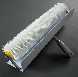 """500mm 50cm 20"""" Wide Spiked Porcupine Spike Roller Floor Preparation"""