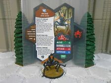 Heroscape Custom Arcane Double Sided Card & Figure w/ Sleeve DC