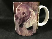 Ceramic Weimaraner Dog Coffee Mug