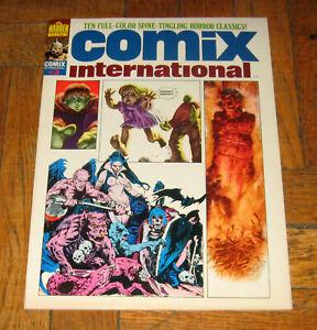 COMIX INTERNATIONAL  # 3  1975  WARREN