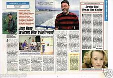 Coupure de presse Clipping 1992 (1 page 1/2) Jean Reno Grand Bleu Hollywood