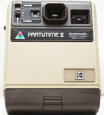 Kodak PartyTime II Kodamatic Instant Film Retro Camera Made In USA