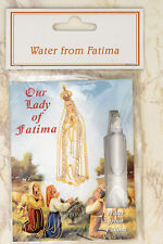 Holy Water Vial Direct From Fatima Healing Devotion Our Lady US Seller Portugal