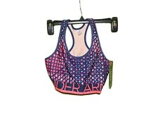 UNDER ARMOUR SHATER PRINT SPORTS BRA SIZE XS NWT MID IMPACT
