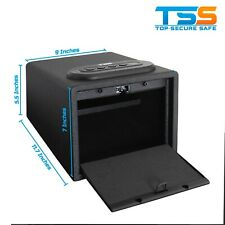 Gun Safe [High Capacity] Lock Box Cabinet Case Handgun Ammo Firearm Vault Safety