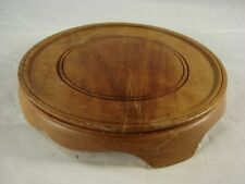 Vintage Large Chinese Wooden Base Stand For Porcelain and other Antiques A10