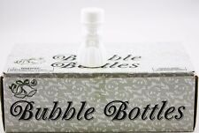 Set of 24 Bubble Bottles White Bride Wedding Favors New Party 730454 2 OZ