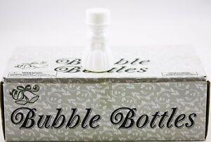 Set of 24 Bubble Bottles White Bride Wedding Favors New Party 730454 2 OZ