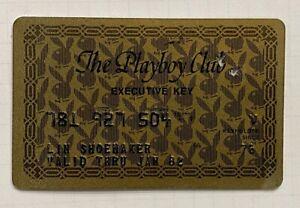 The Playboy Club Executive Key Credit Card 1976 Issue