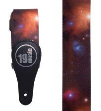 Deep Space Planets Galaxy Cosmos Acoustic Electric Adjustable Guitar Strap