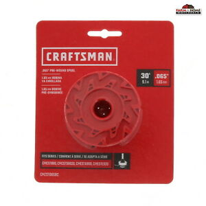 """Craftsman Weed Eater Trimmer String Line Spool 30' x .065"""" ~ NEW"""