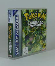 Game Boy Advance - Game Case Box - Pokemon Emerald (AU)
