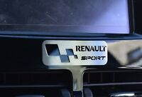 PLAQUE RENAULT CLIO IV 4 DCI AUTHENTIQUE DYNAMIQUE ENERGY RS SPORT EXPRESSION F1