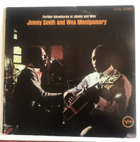 G+ WES MONTGOMERY and JIMMY SMITH Further Adventures Of Verve Jazz LP V6-8766