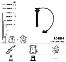 IGNITION HT LEAD SET NGK RC-HE89              5049