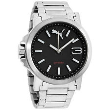 Puma Black Dial Stainless Steel Men's Watch PU103462018