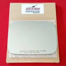 NEW Mirror Glass + ADHESIVE 03-09 HUMMER H2 Passenger Side RH **FAST SHIPPING**