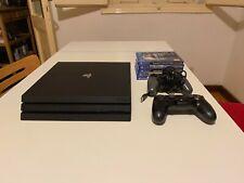PlayStation 4 Pro 1TB con 5 giochi e 2 Controller