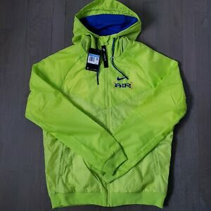 🔥NEW Nike Catching Air Windrunner Neon Blue Winter Jacket Size XL CW4708-389 🔥